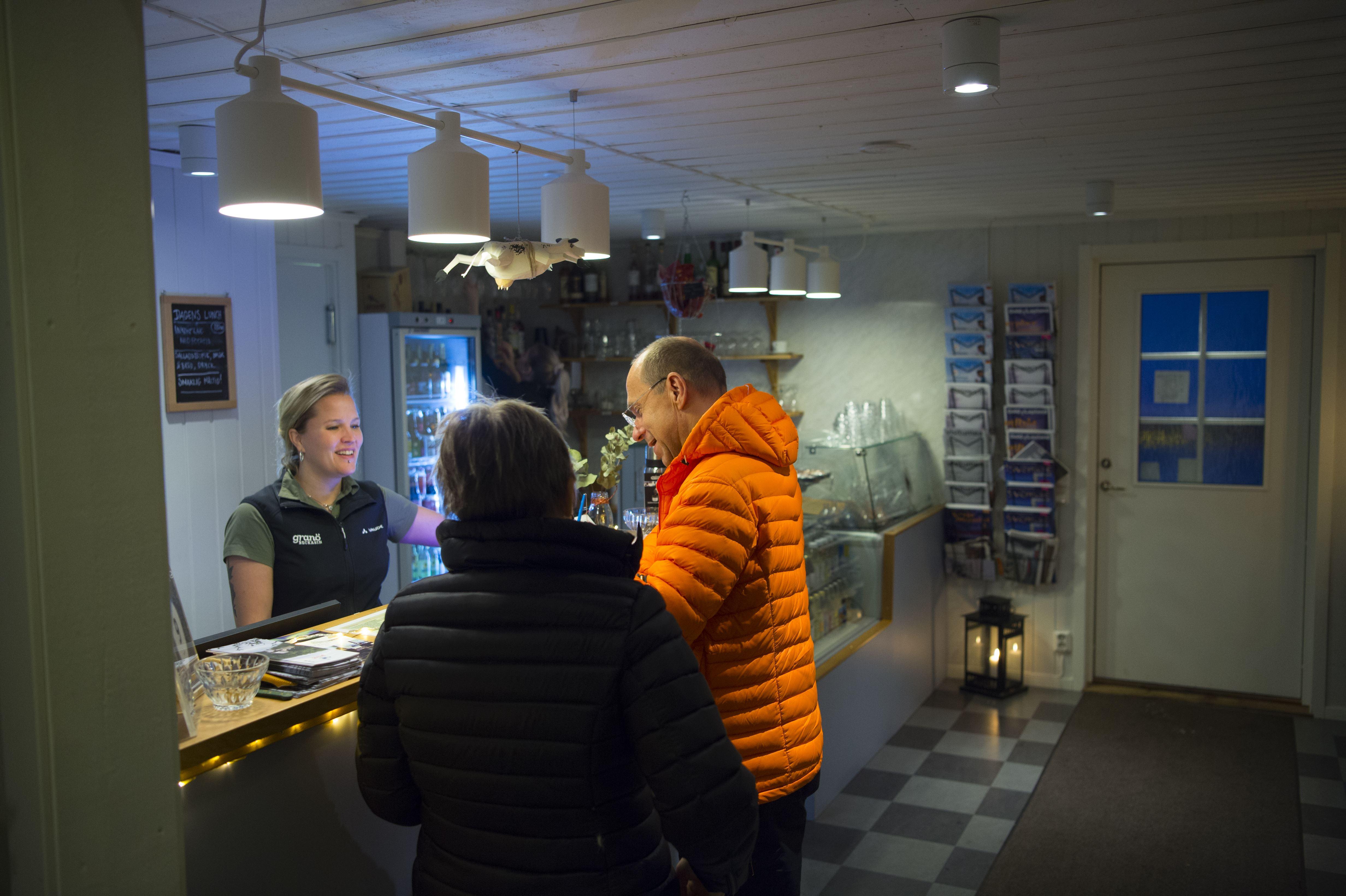 Patrick Trägårdh, Granö Beckasin Café & Restaurang