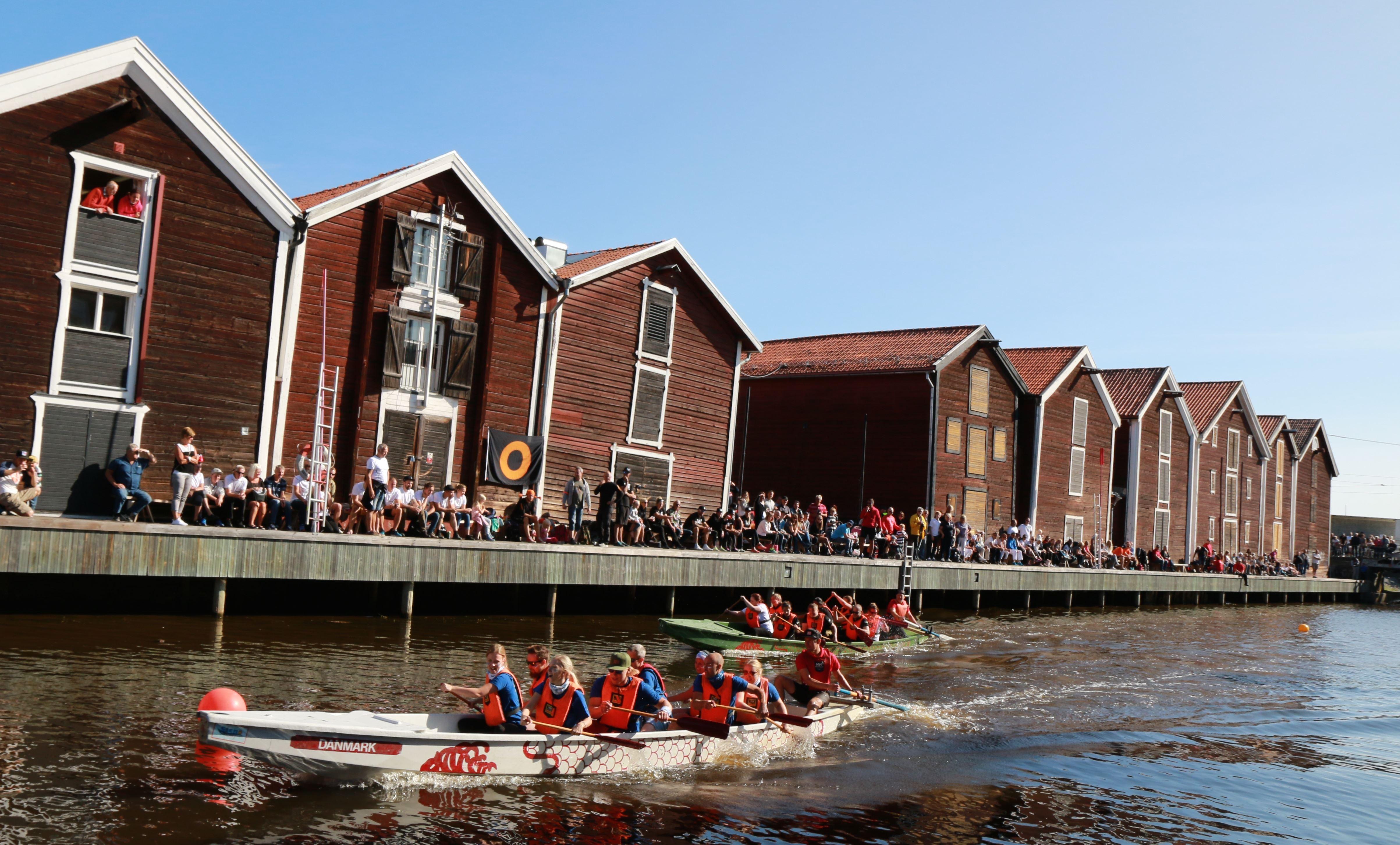 Vattenfestivalen/Drakbåtssprinten