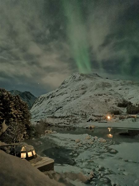 Experience the Northern Night a FLO Lofoten experience