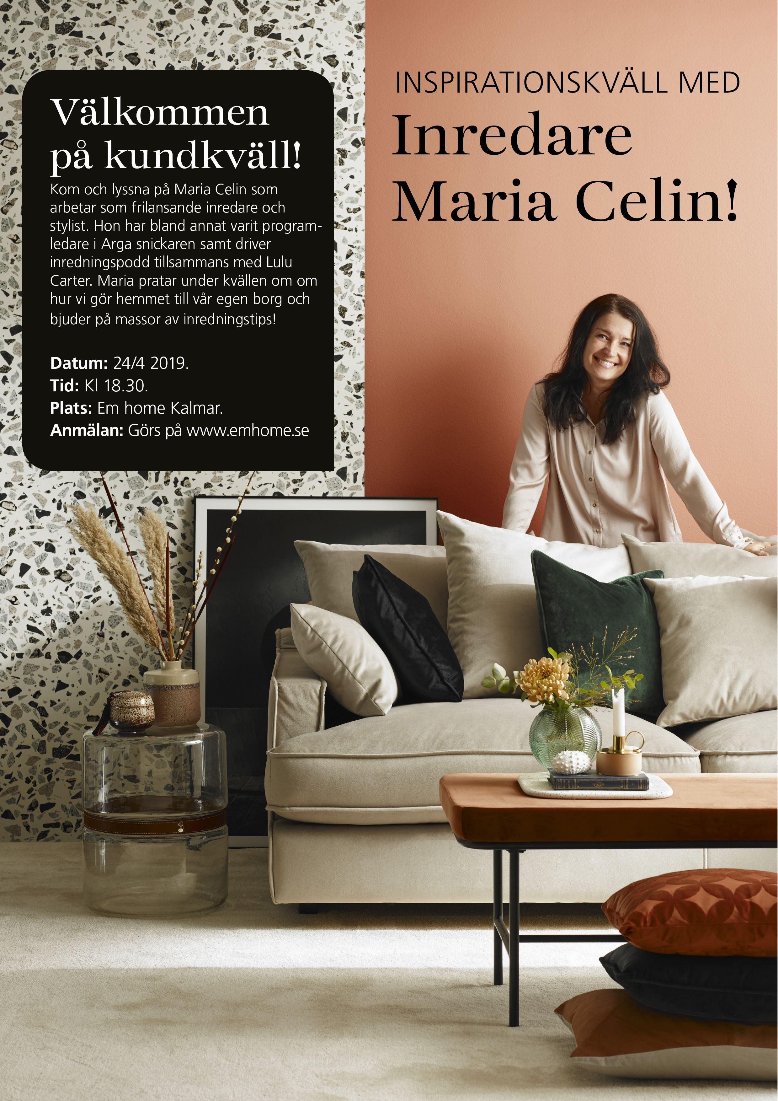 Inspirationskväl med Mia Celin