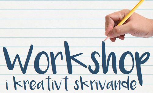 Inställt! Kreativt skrivande 16-25 år