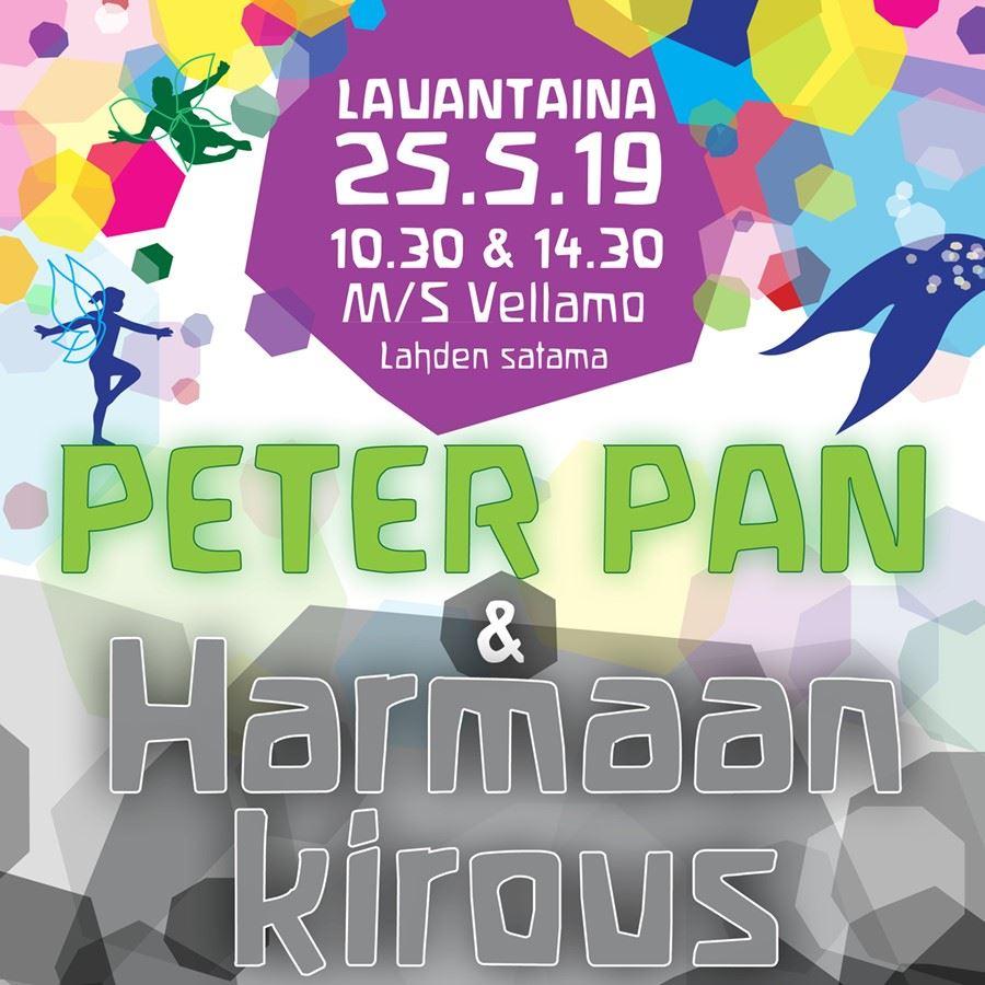 Peter Pan ja Harmaan kirous 25.5.2019 klo 10.30 ja 14.30 | Lahden Steinerkoulu