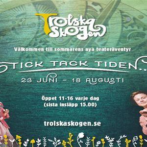 Trolska Skogen - familjeäventyr, mellanfjärden, tick tack tiden,,  © Trolska Skogen - familjeäventyr, mellanfjärden, tick tack tiden,, family adventure, mellanfjärden, sweden