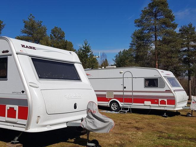 Lufta Camping / Ferienhäuser
