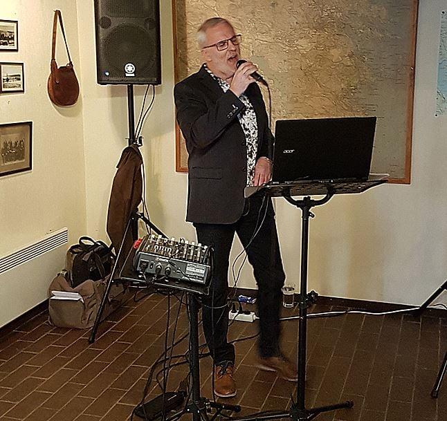 Musikquiz med Leif Lunkan Lundgren på Bergviks Industrimuseum