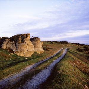 Geologisk lättsam vandring utmed stenkusten