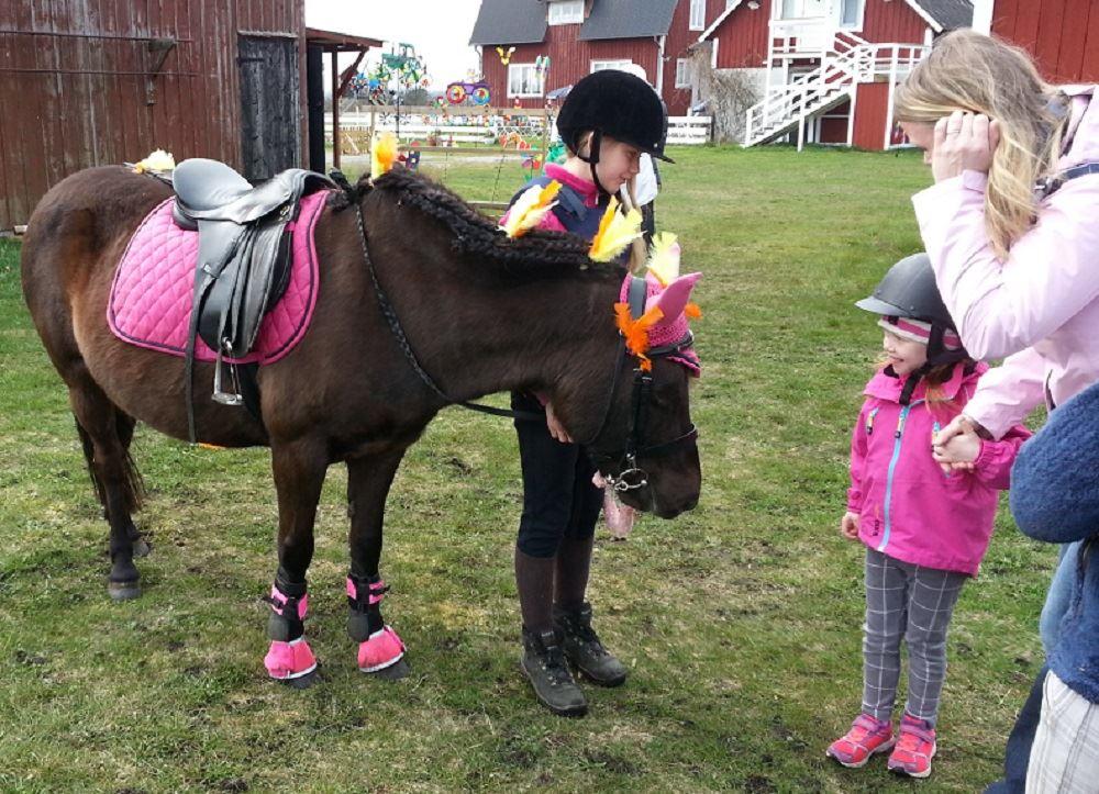 Ponnyridning för småbarn