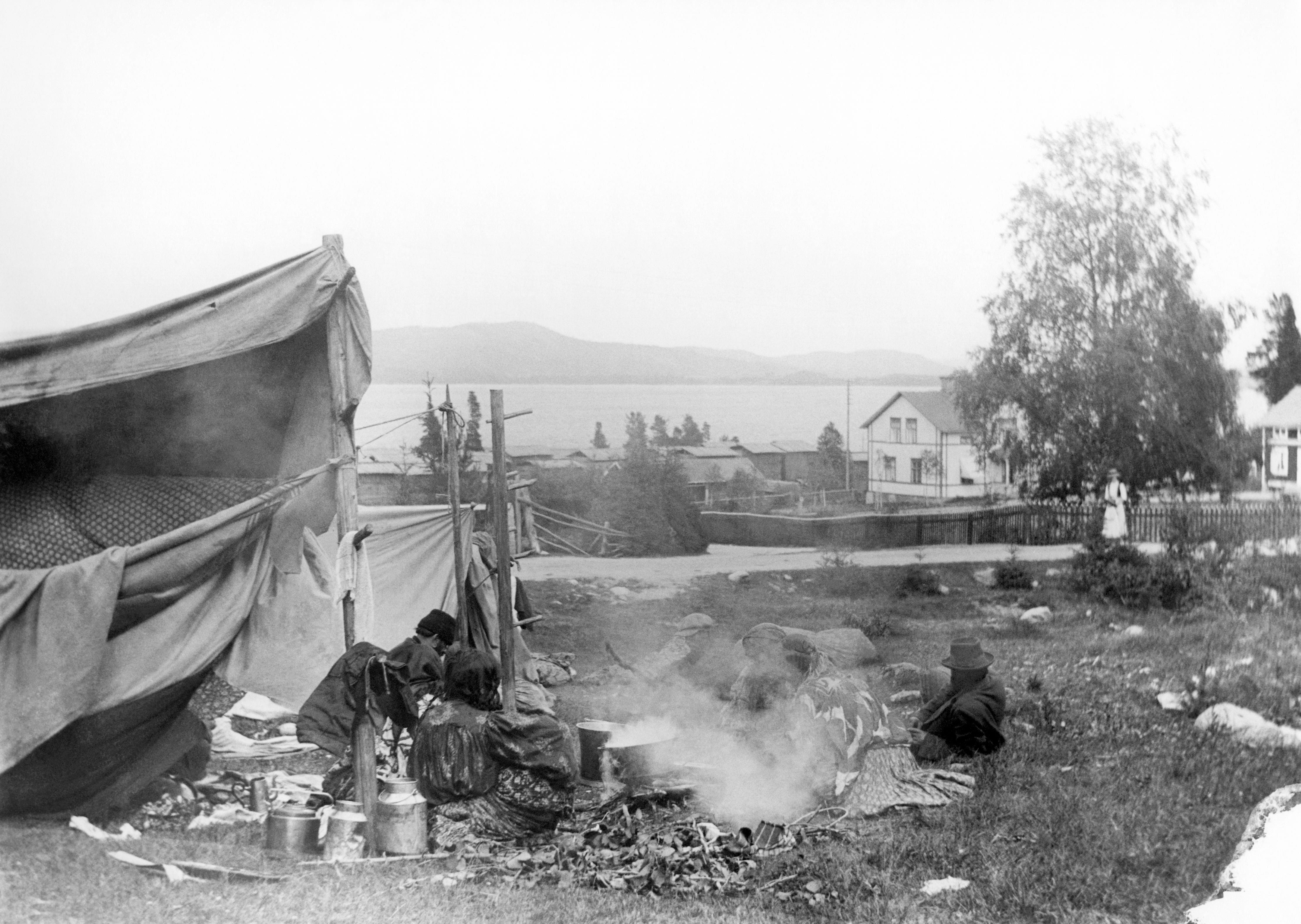 © Rengsjö Hembygdsförening, Om romsk historia i Gävleborg