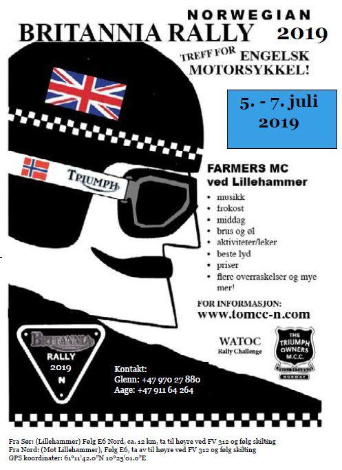 Britannia Rally 2019