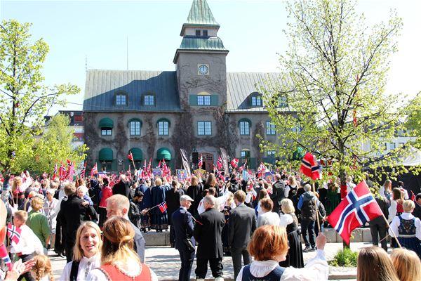 17.mai på Lillehammer