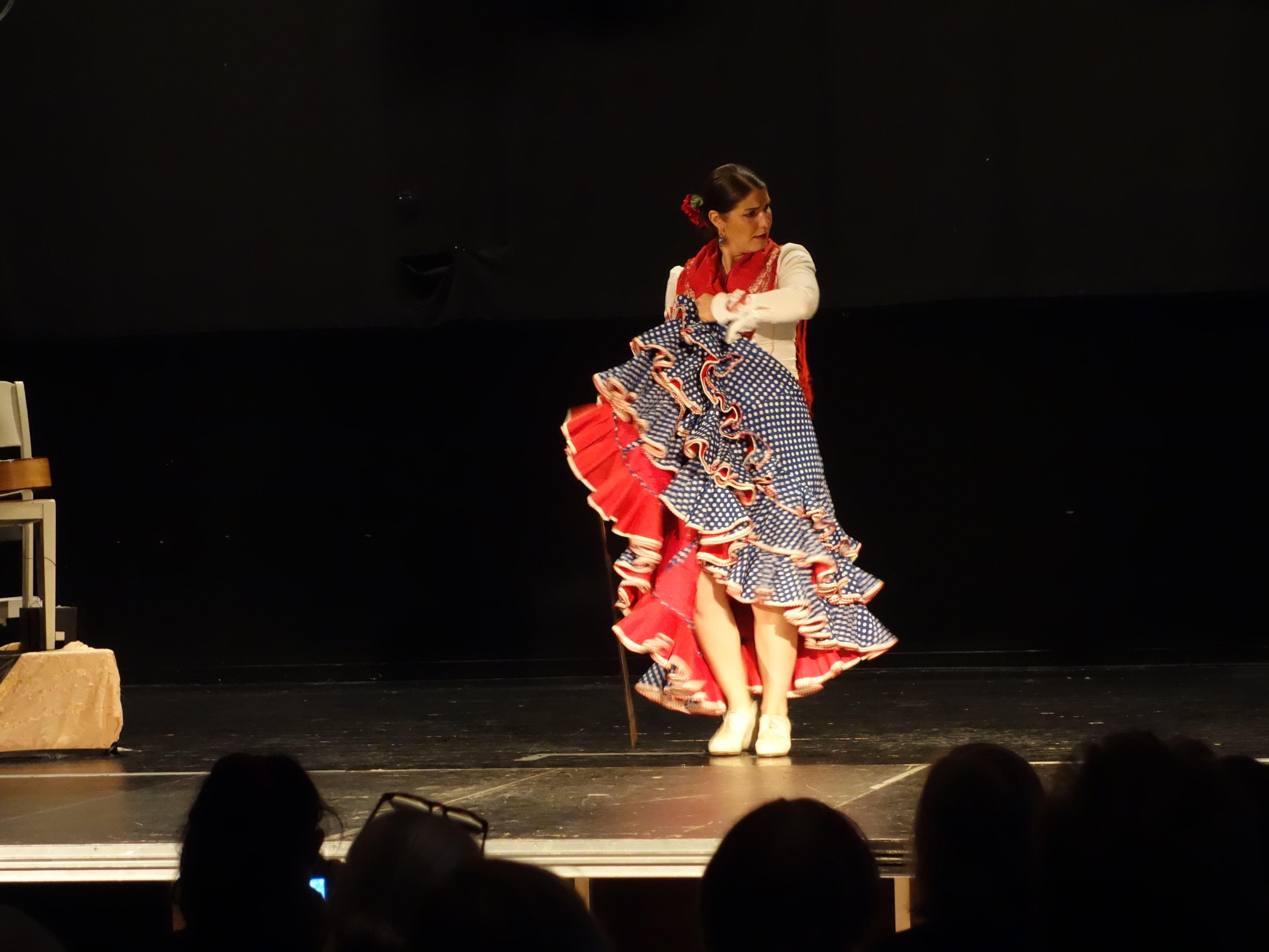 Flamencouppvisning