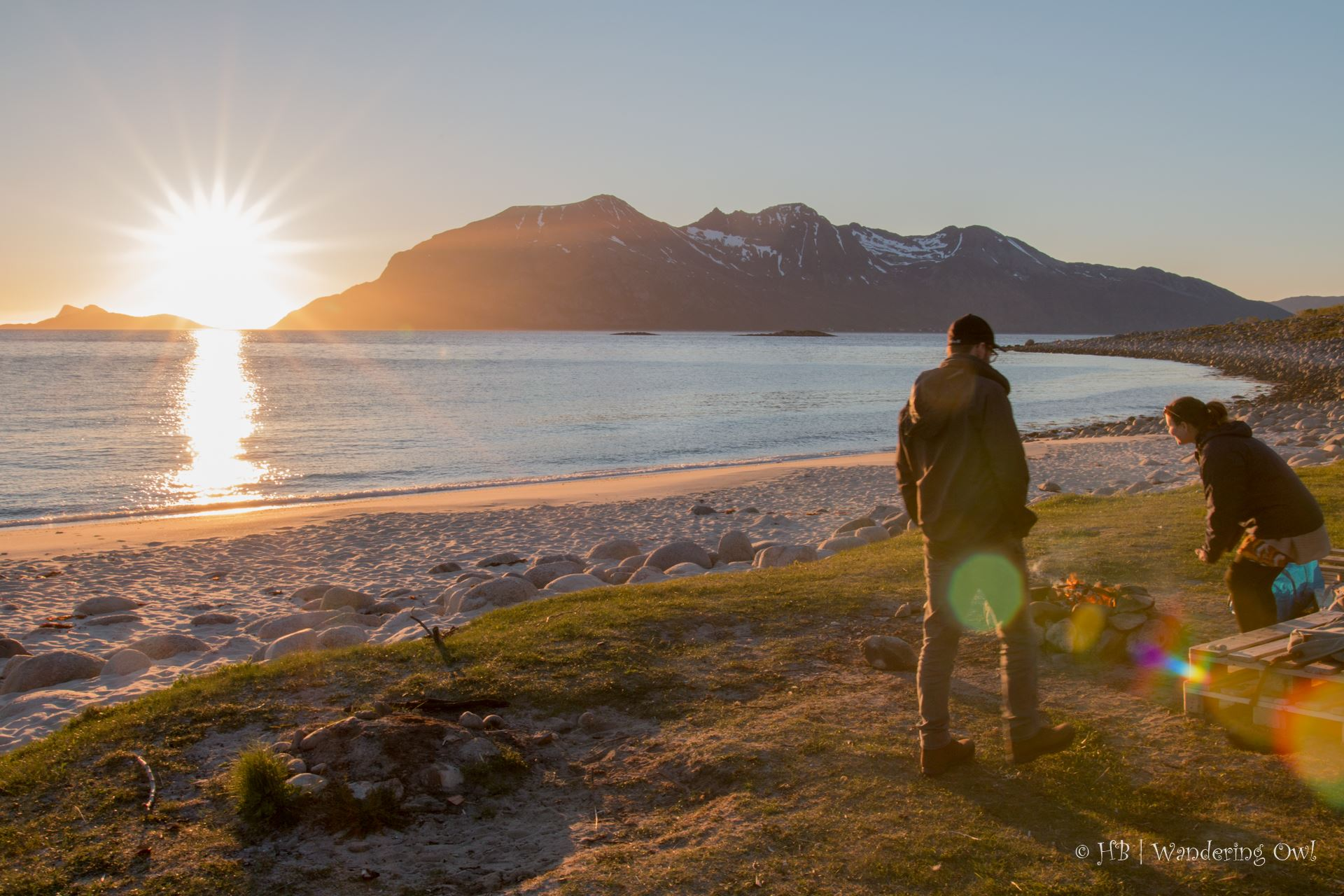 Summer Night Campfire – a Fjord Tour with Dinner and Photography - Wandering Owl