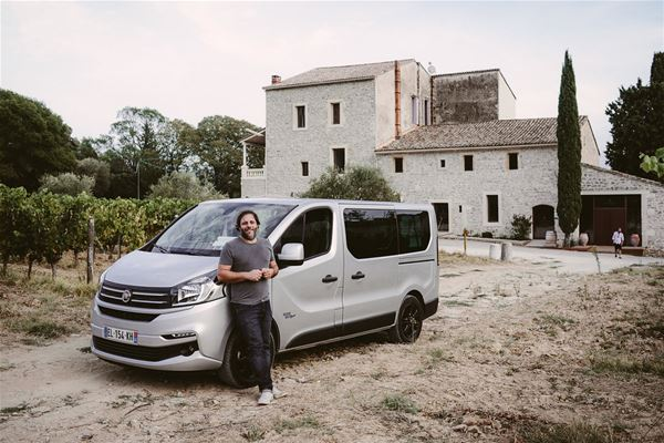 St Guilhem le Désert, histoire du vin et cuisine du marché avec Bertrand Bosc
