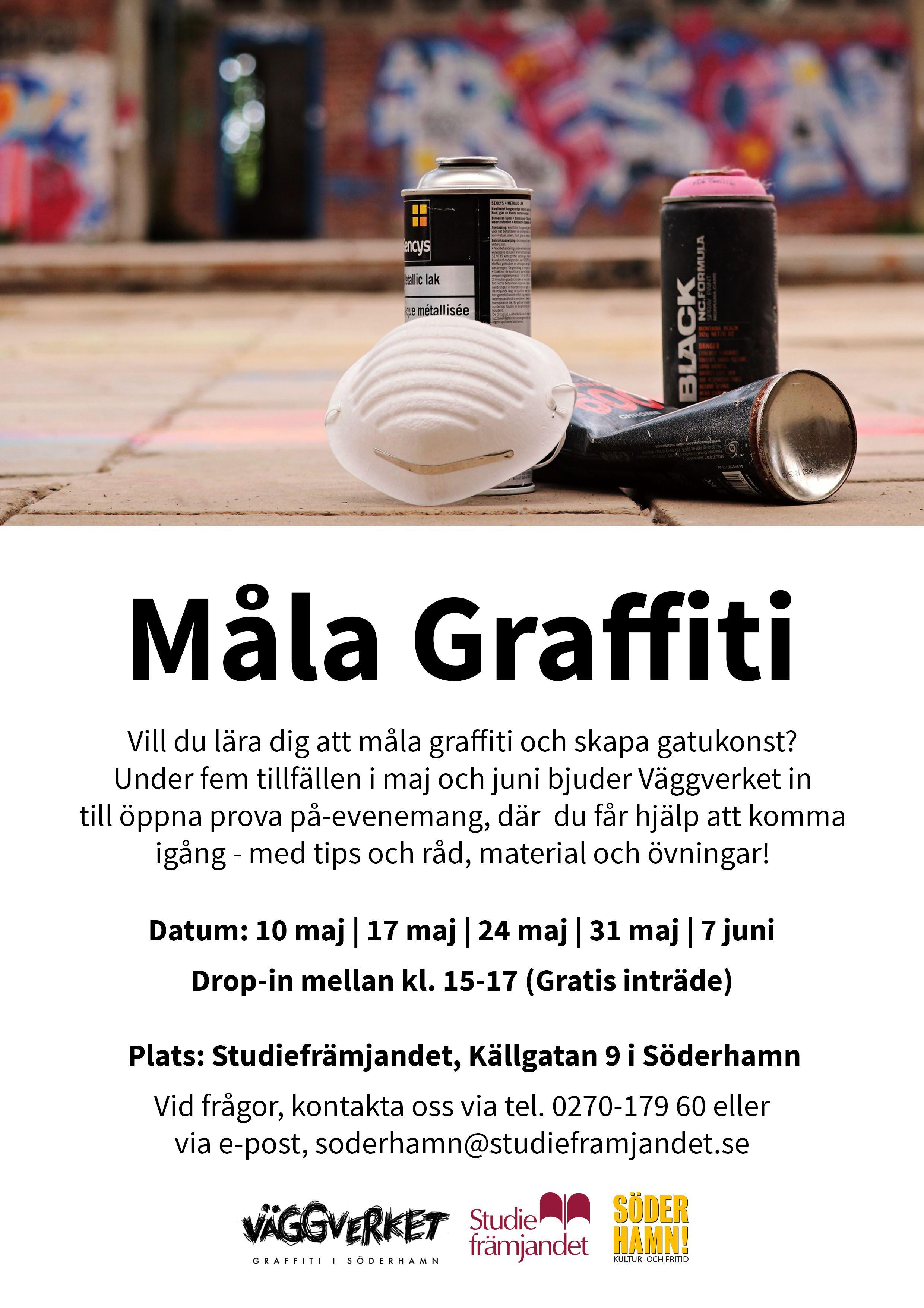 Måla graffiti