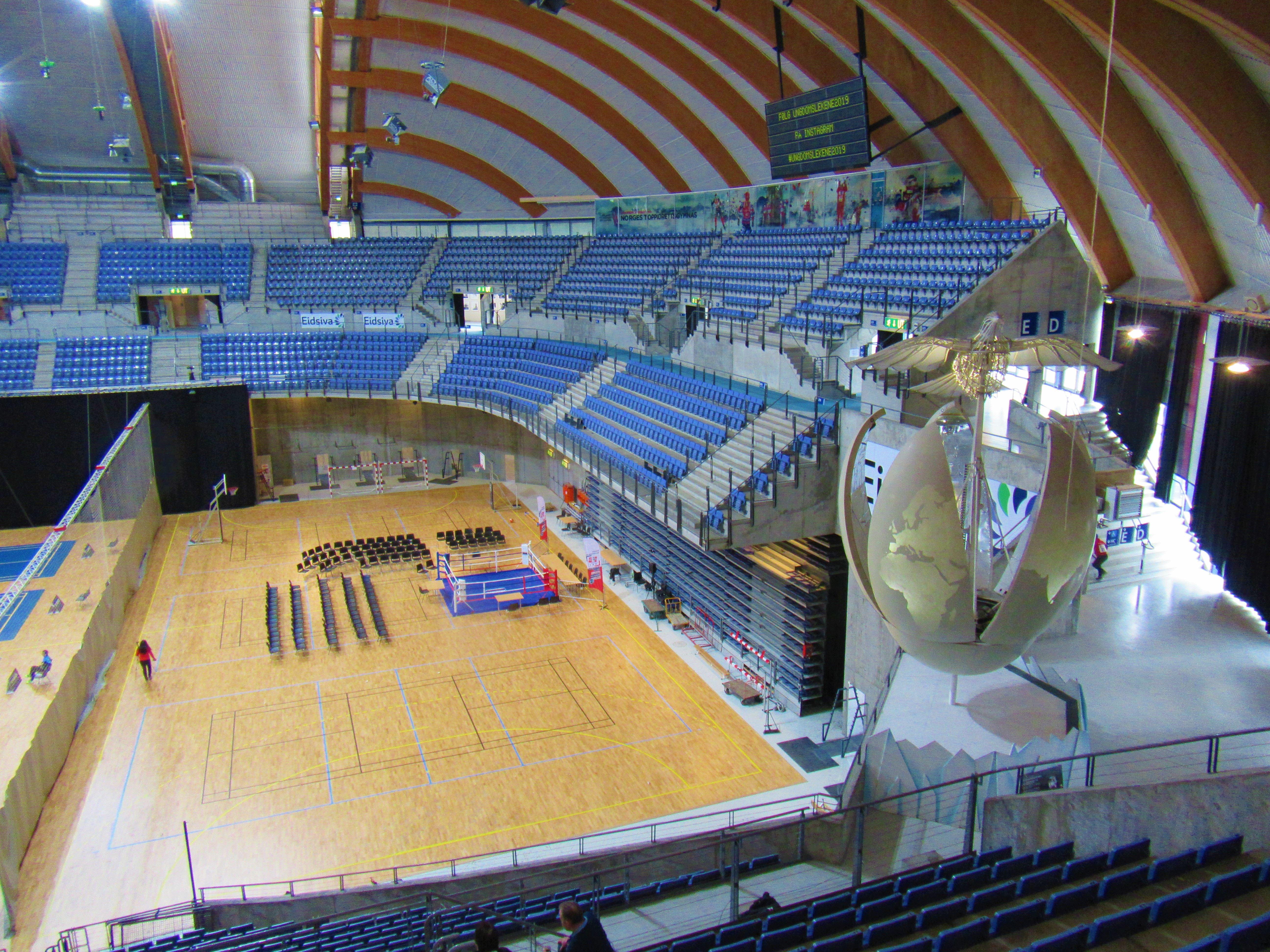Haakons Hall in Lillehammer