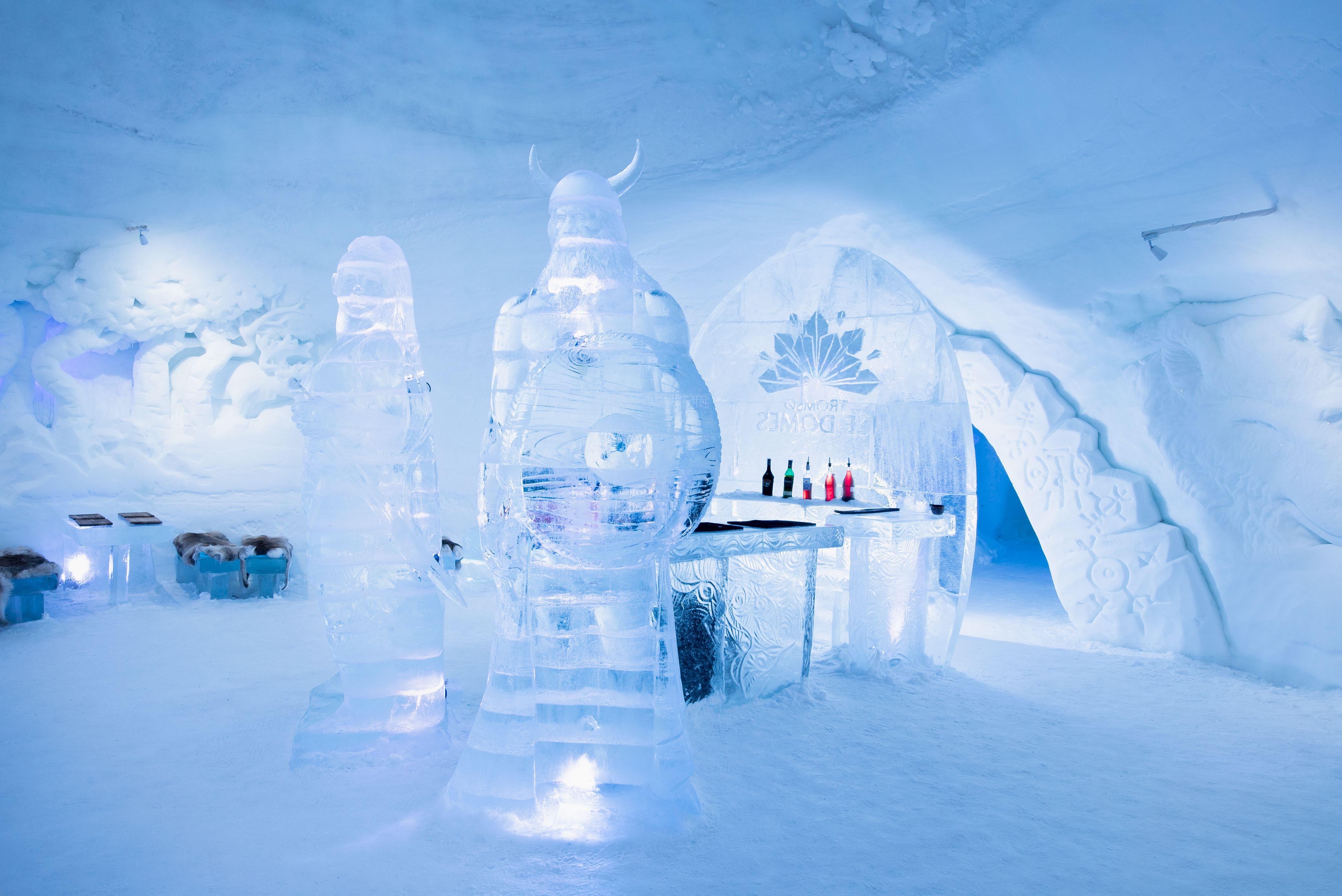 Tromsø Ice Domes visit (day visit to an ice hotel) - Destination Tromsø