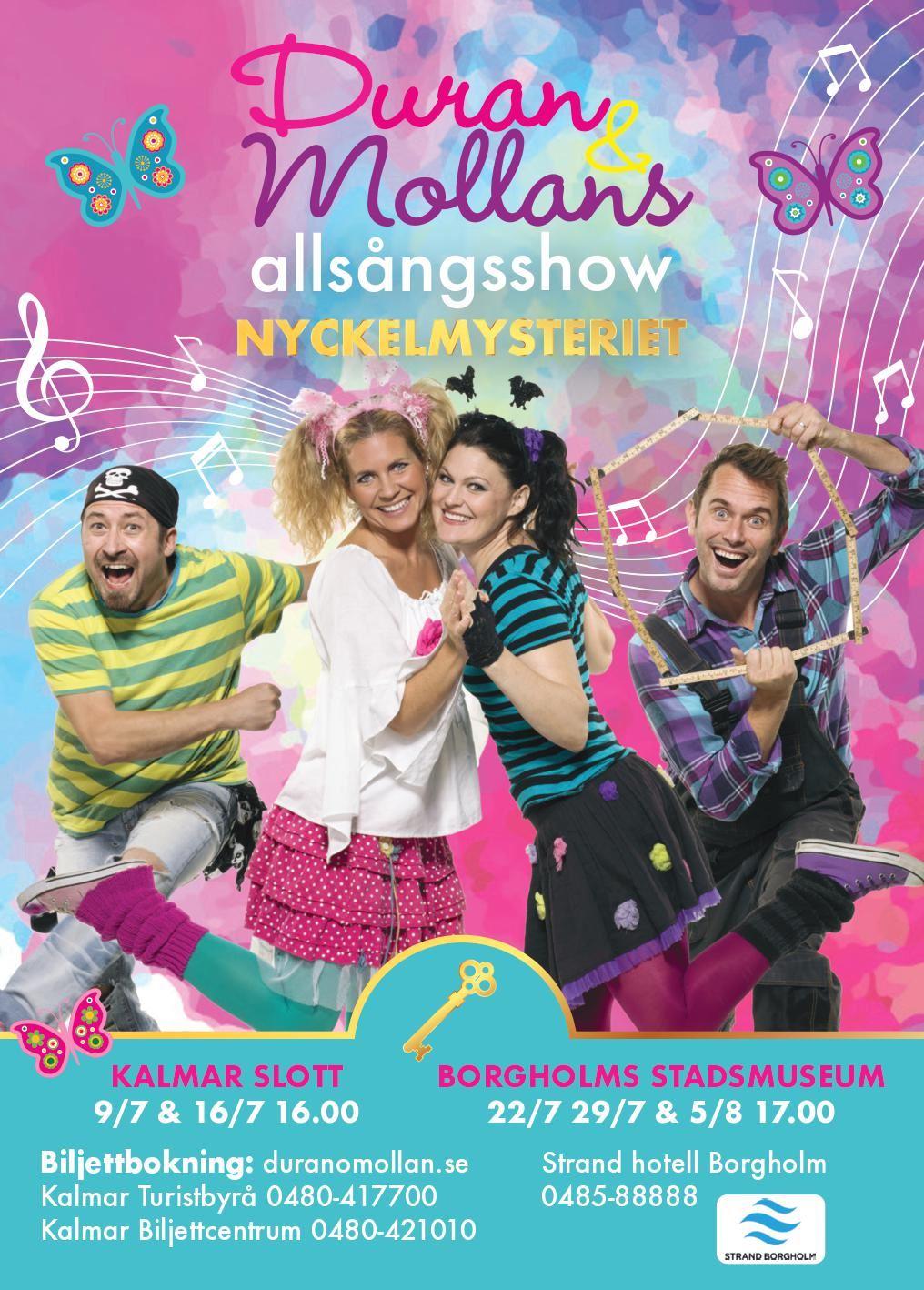 Duran & Mollans allsångsshow - Nyckelmysteriet
