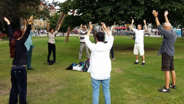 Prova på Falun Gong