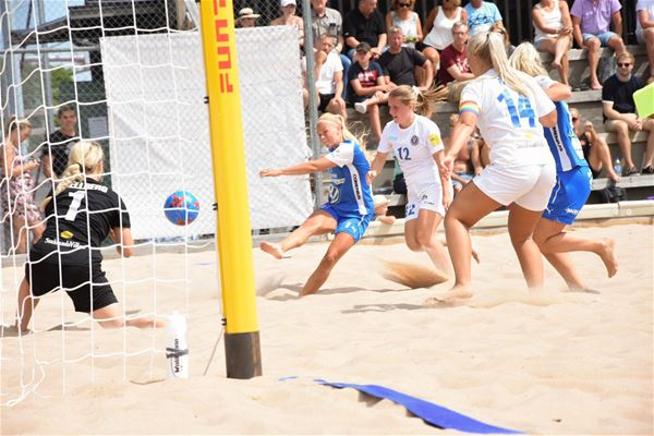 SM-slutspel i Beach Soccer