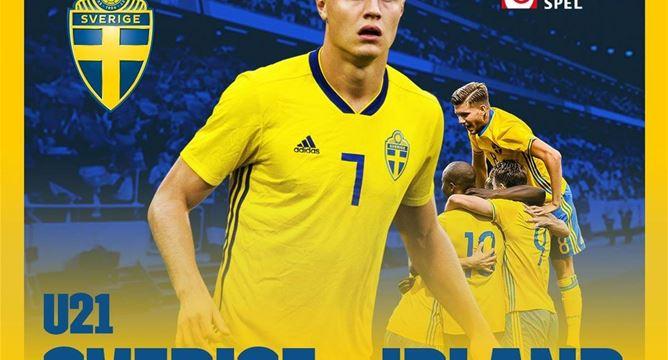 EM-kval U21 Sverige-Irland