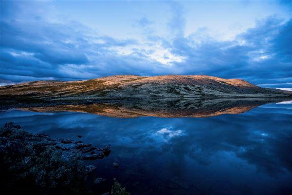 Yngve Ask ,  © Explore Rondane, Fjellyoga under Fjellviku på Høvringen