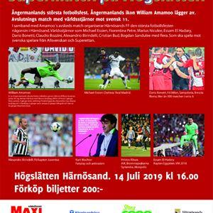 Fotbollsfest i Härnösand