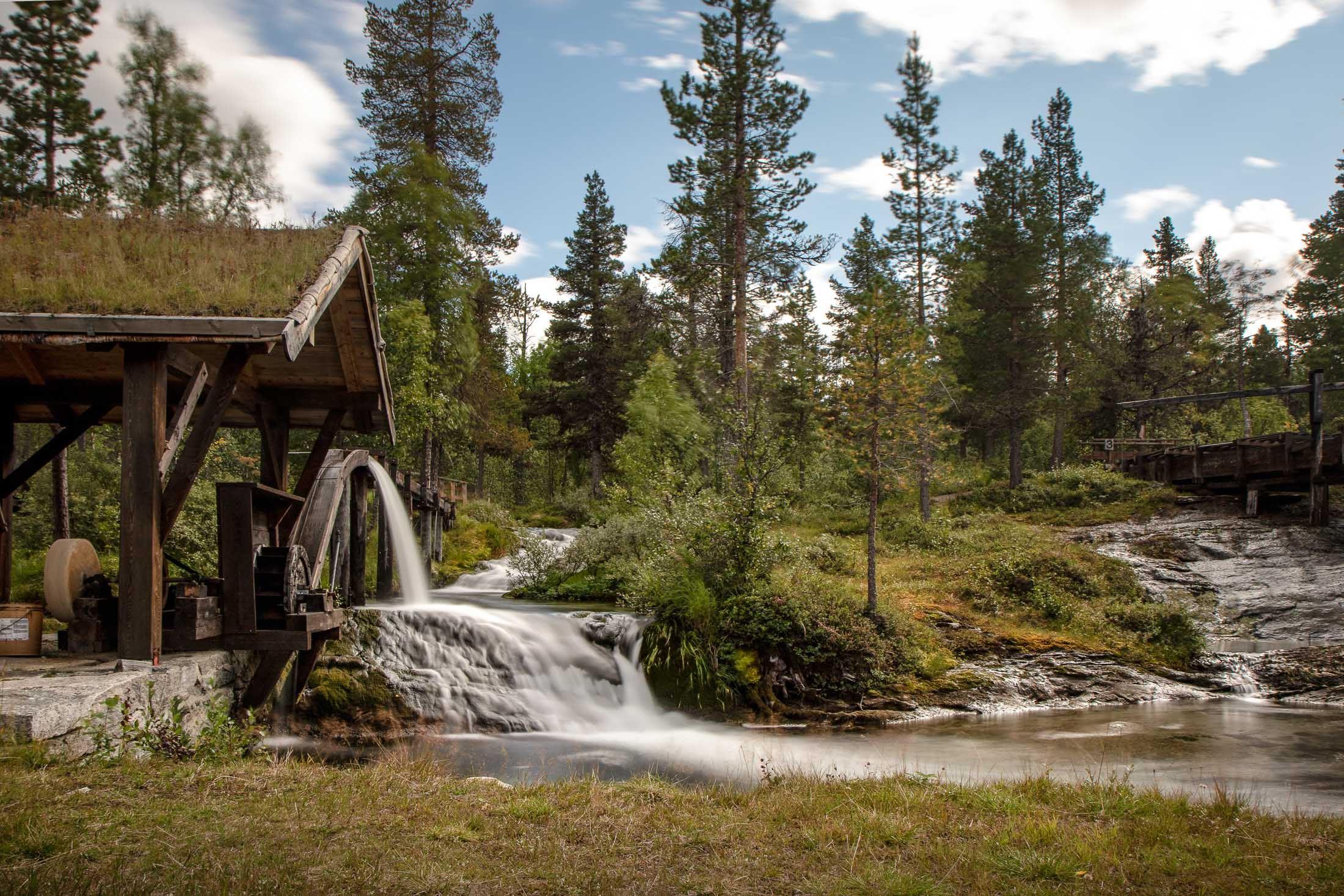 Sagelva Vasskraftsenter - Med vatn som drivkraft i 300 år