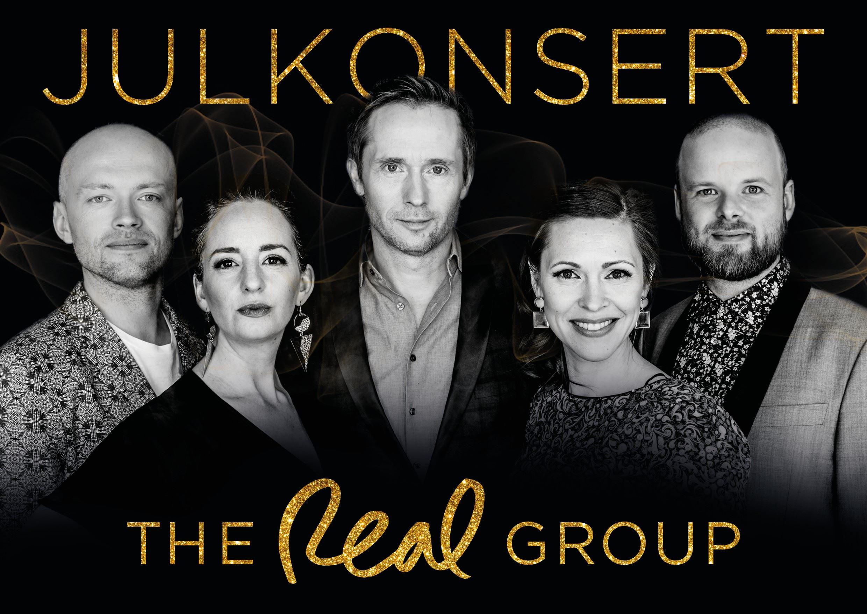 The Real Group Julkonsert