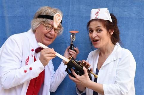 Musikteater: Doktor Kling och Syster Violina