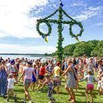 Midsummer celebration - Dragsö camping
