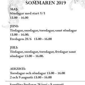 Välkommen till Smedsgårdens Bruksmuseum i sommar