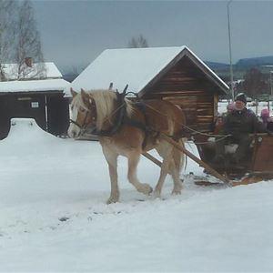 Delsbo Forngård: Gammeldags Julmarknad