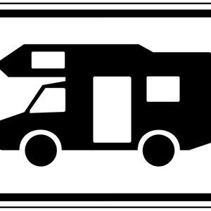 Parkplätze für Wohnmobile und Ferienhäuser am Vidöstern