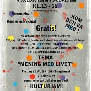 © Tingshuset, Kulturjam at Tingshuset