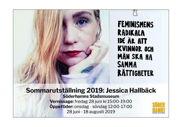 """Sommarutställning 2019: """"Det är en konst att få folk att lyssna"""", Jessica Hallbäck"""