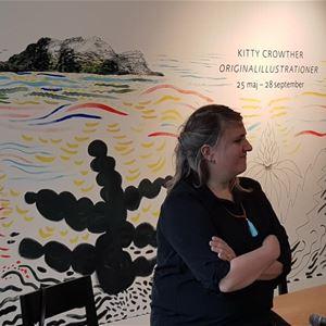 Visning av Kitty Crowthers Originalillustrationer på Hälsinglands museum