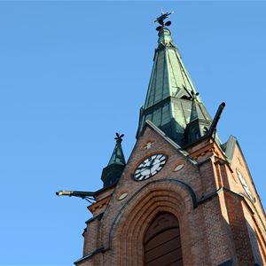 Free tour of Umeå city Church
