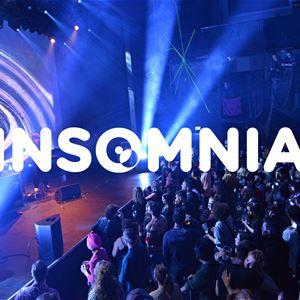 © Insomniafestivalen, konsertbilde med Insomnia-logo