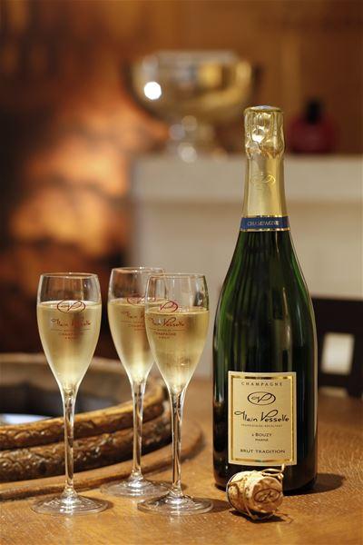Visite des caves - Champagne Alain Vesselle
