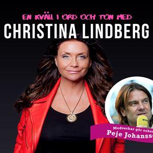 Christina Lindberg - En kväll i ord och ton.