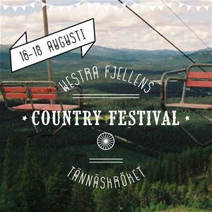 Tännäs Countryfestival 16-18 augusti