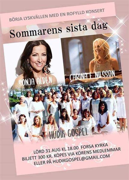 Konsert- Sommarens sista dag