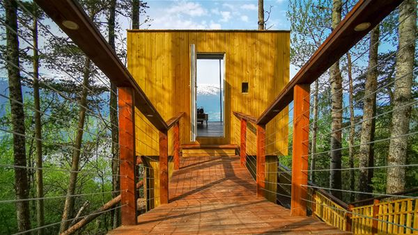 Engeset Trehytter (Tree Houses)