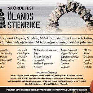 Skördefest i Ölands stenrike
