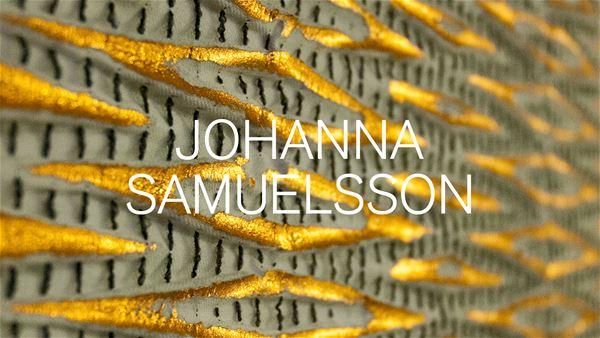 """Utställning: Johanna Samuelsson """"Textil Textur"""""""