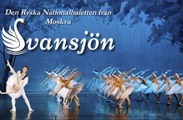 Den ryska nationalbaletten från Moskva - Svansjön