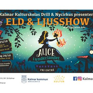 Eld & Ljusshow - Alice i Underlandet
