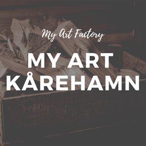 Skördefest My Art i Kårehamn - 4 Konstnärer & 1 konsthantverkare