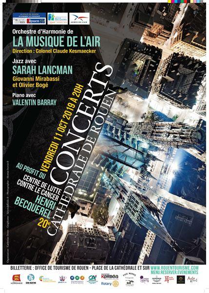 Concerts caritatifs à la Cathédrale de Rouen, vendredi 11 octobre