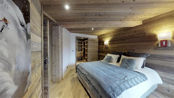 7 rooms 12 people / CHALET PLAN BOIS (Mountain of Dream) / Tranquillity Booking